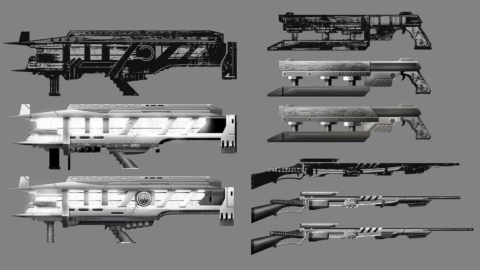 Weapon Exploration