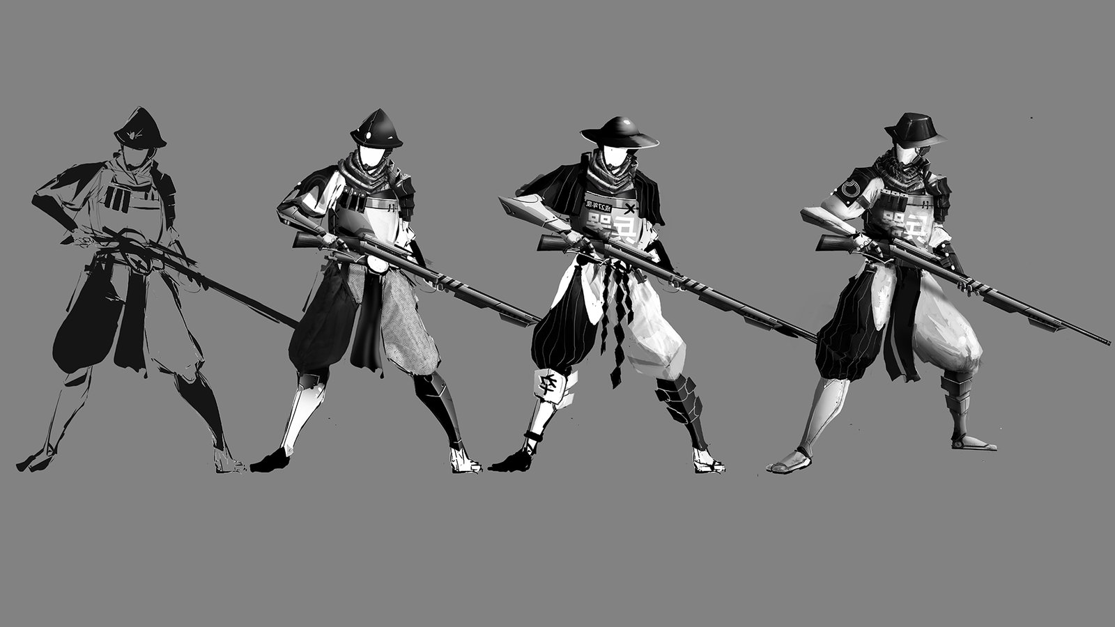 Foot Soldier exploration with final design