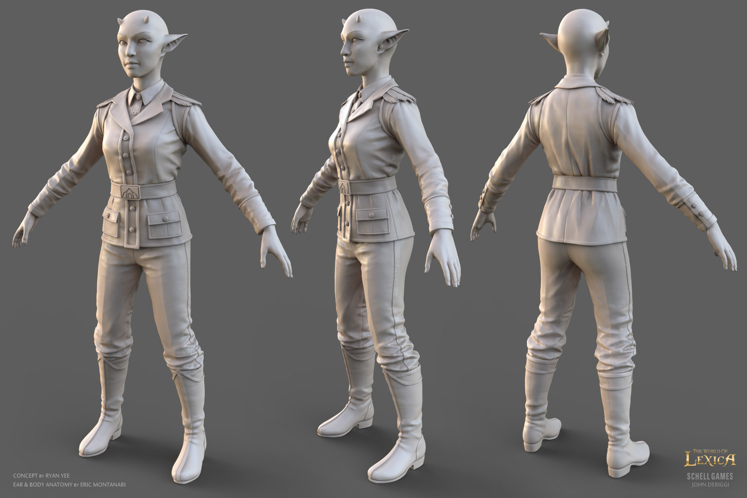 John deriggi councilfemale sculpt 1 5