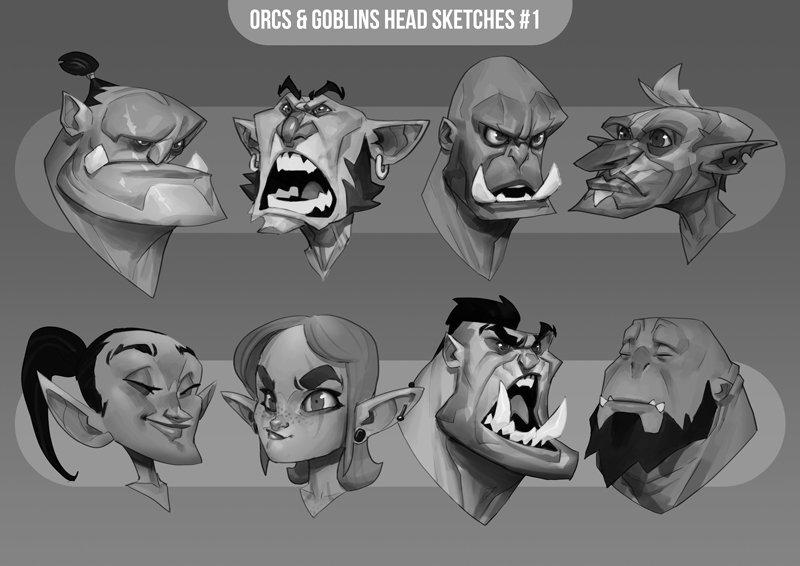 Max grecke orcngoblinheads