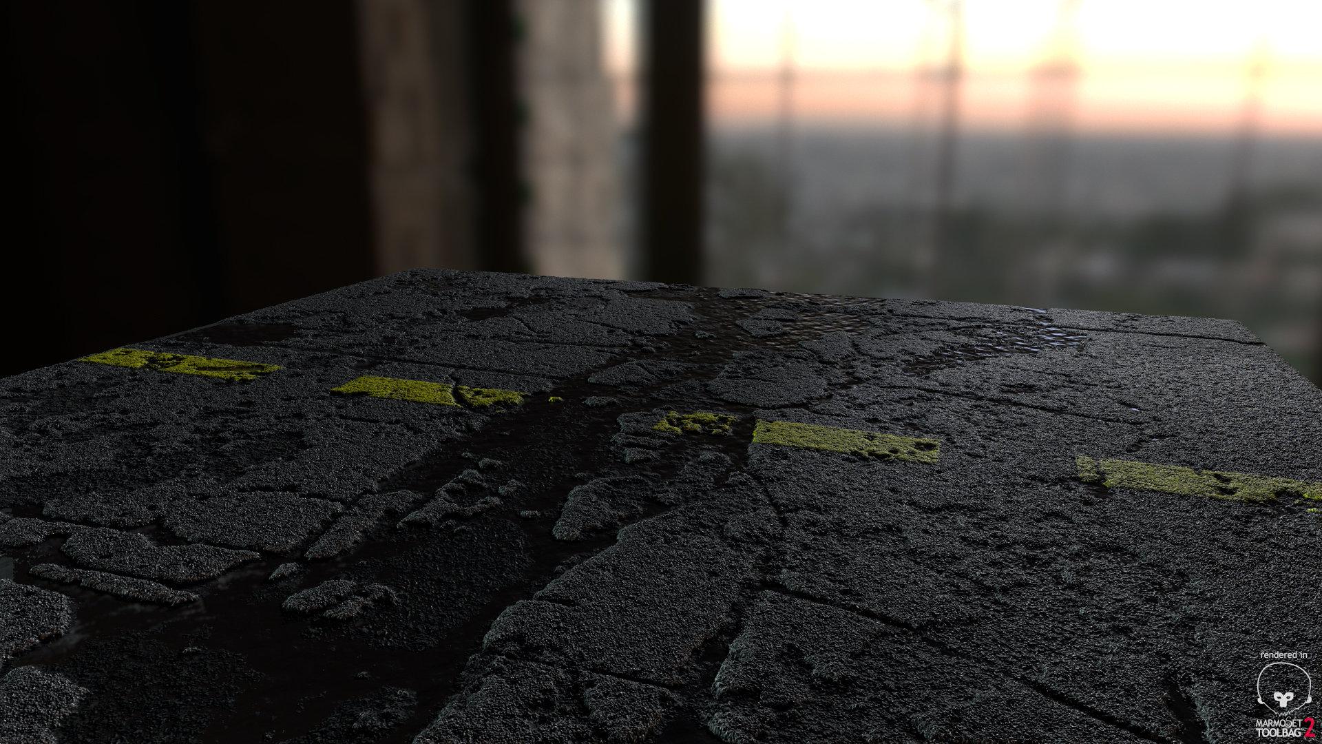 Pretty 1 Button Template Thin 1.5 Inch Hexagon Template Shaped 10 Half Hexagon Template 10 Steps To Creating A Resume Youthful 12 Week Calendar Template Bright15 Minute Schedule Template Hugh Trombley | 3D Environment Artist   PBR Street Test