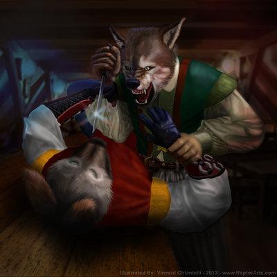 Vincent chiantelli bar fight by raptorarts d6lsz89