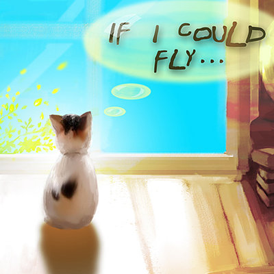 Menghua fang if i could fly small