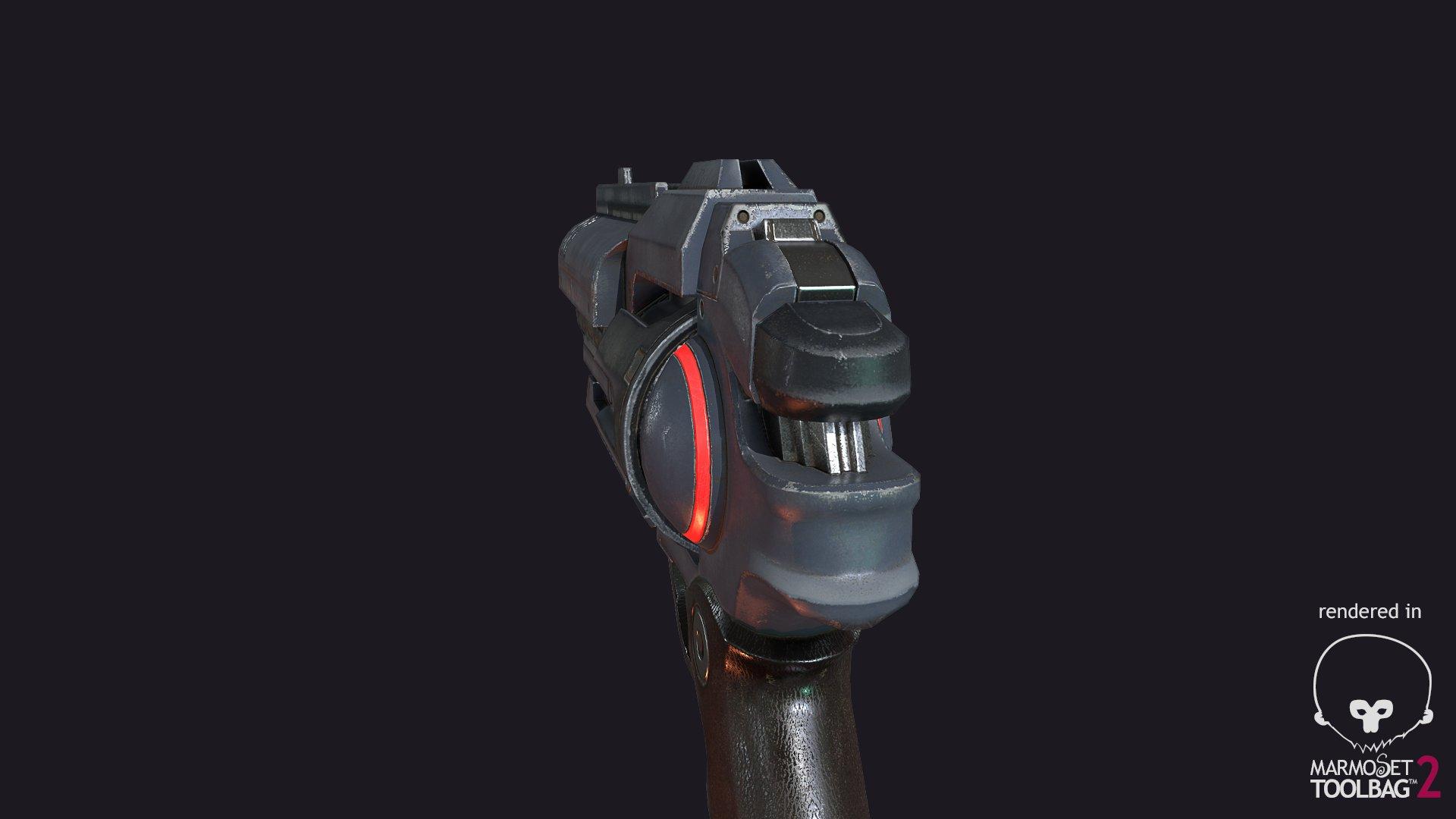 Roman Kashtanov Sci fi revolver