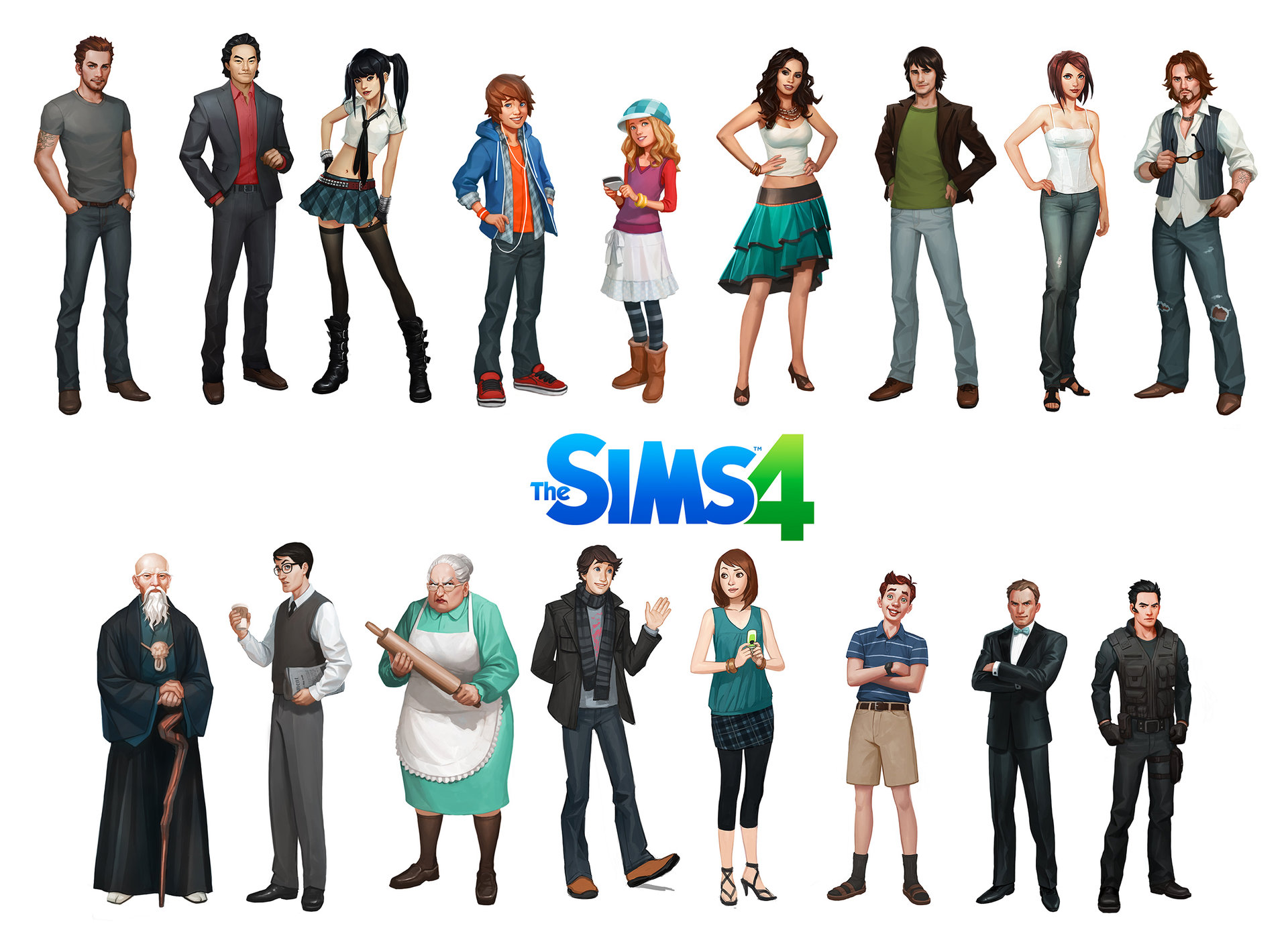 Artstation - Sims 4, Jason Chan-8386