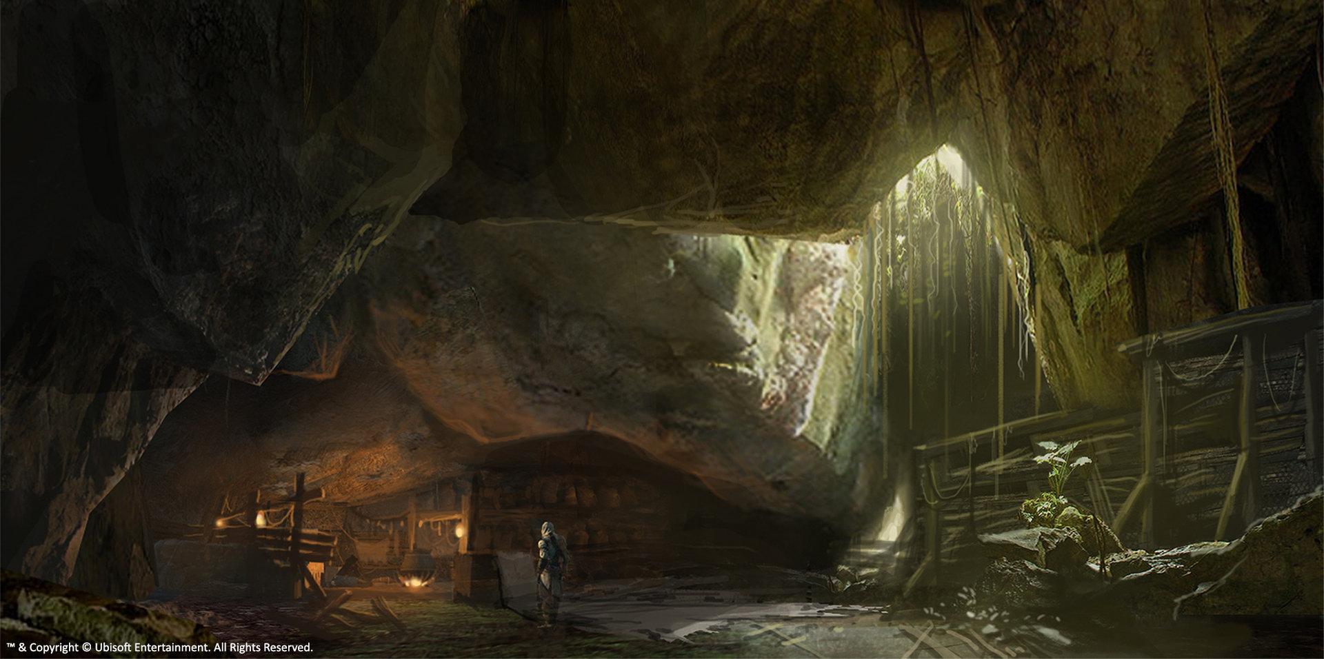 Home Design 3d Game Ideas Nick Tan Assassin S Creed 3 Concept Art Shipwreck S Cave