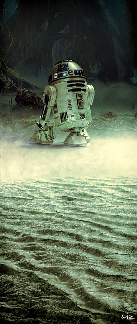 Paul johnson r2d2 dagobah 01