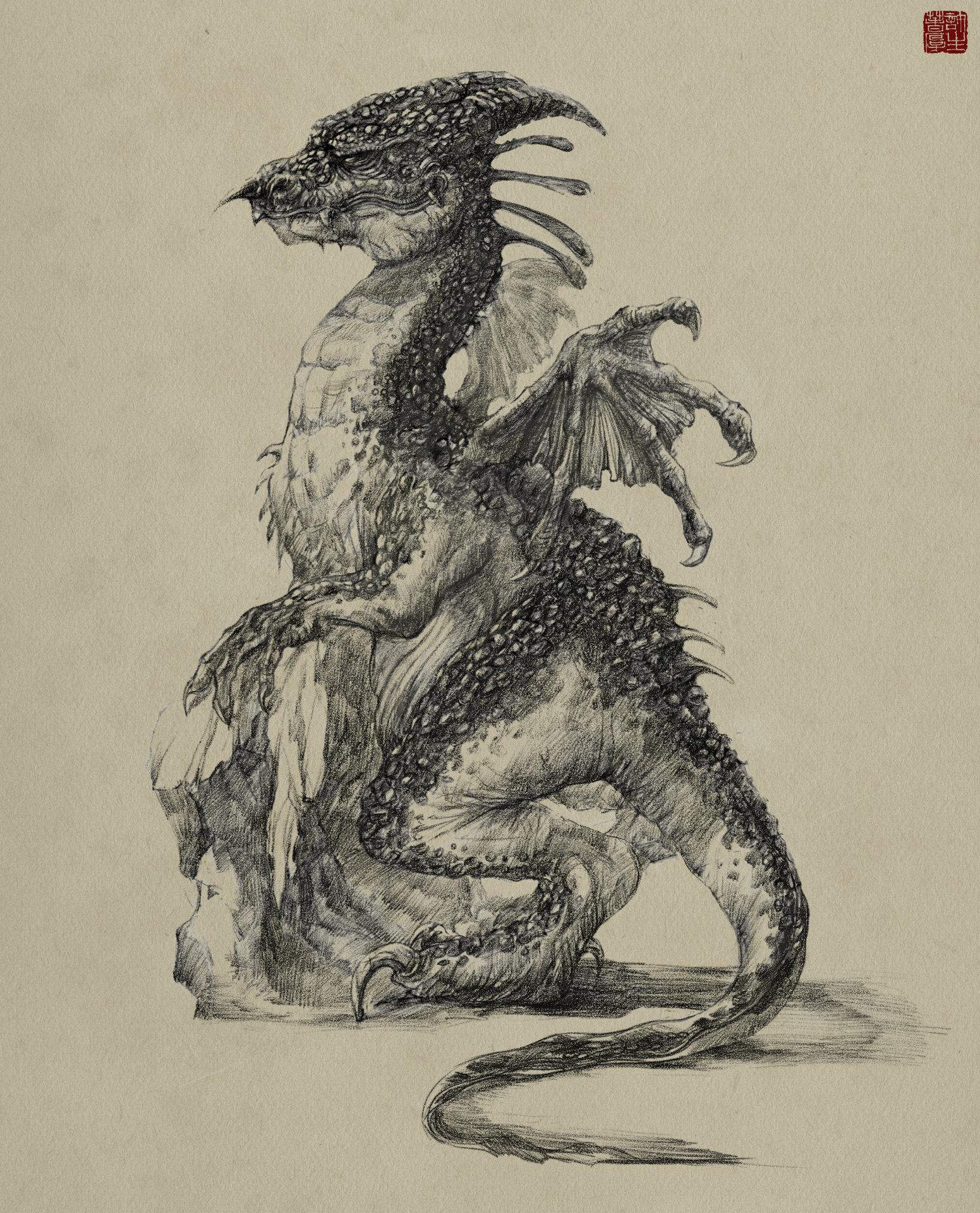 Zhelong xu dragon