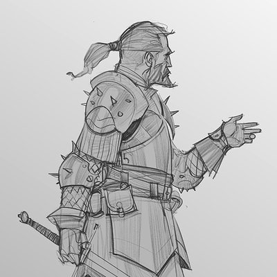 Daily sketch 18