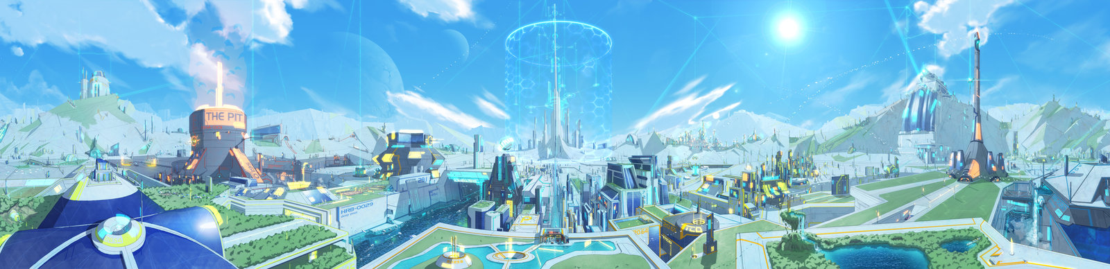 Sci-Fi City Backgrounds