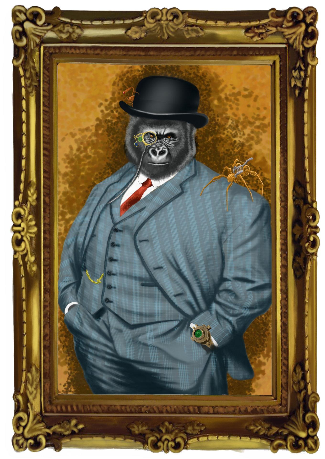 Daniel hidalgo vicente gorila marco