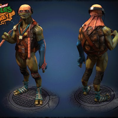tmnt the last ronin mikey