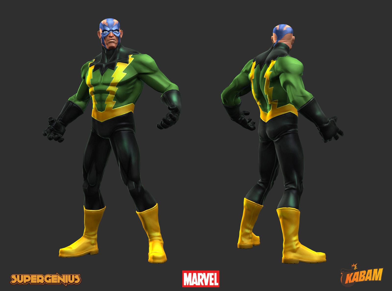 Marvel: Electro
