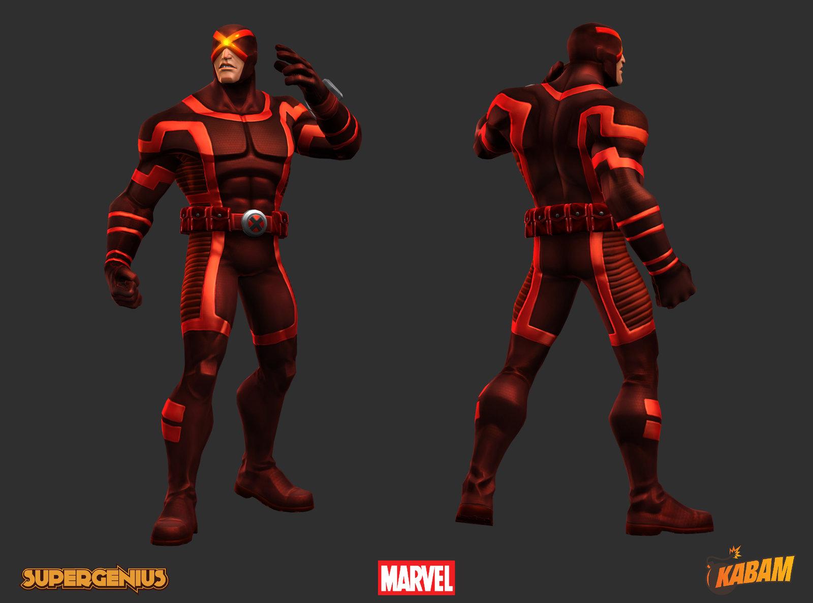 Marvel: Cyclops X-Face