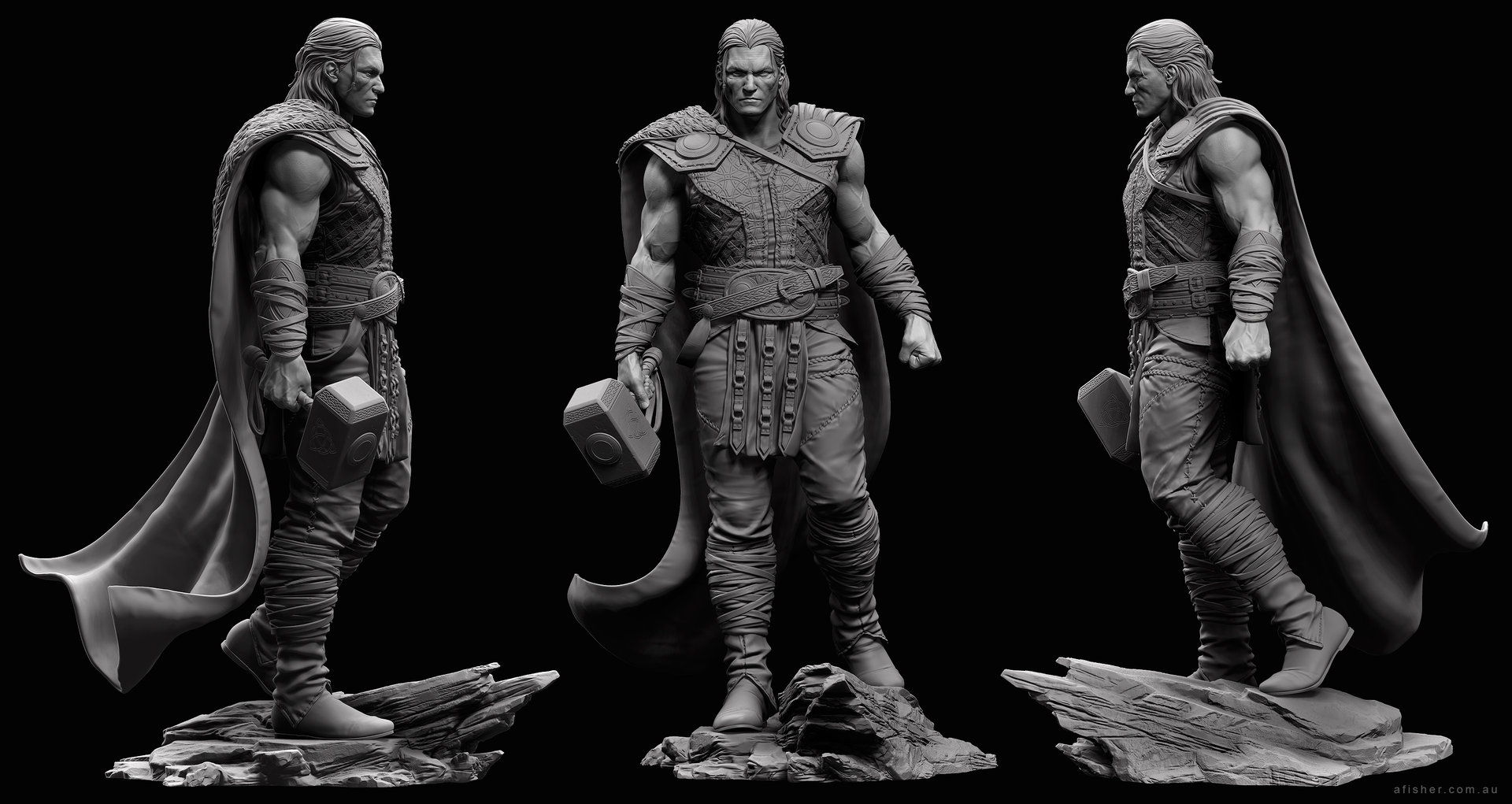 Adam fisher afisher thor sculpt01
