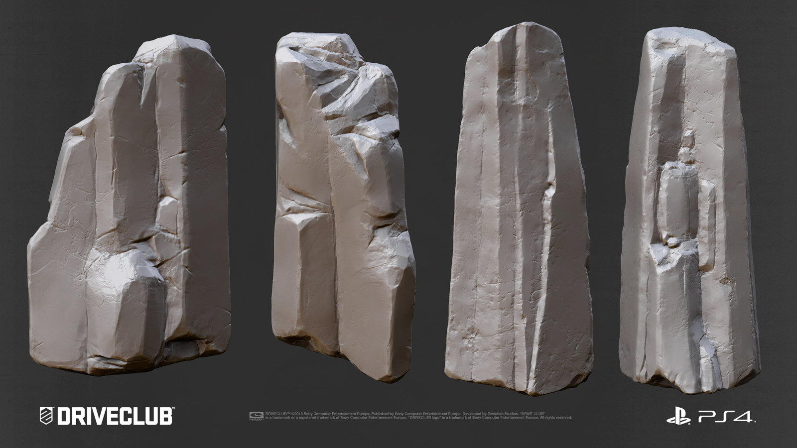 Zbrush Rock Sculpt 2