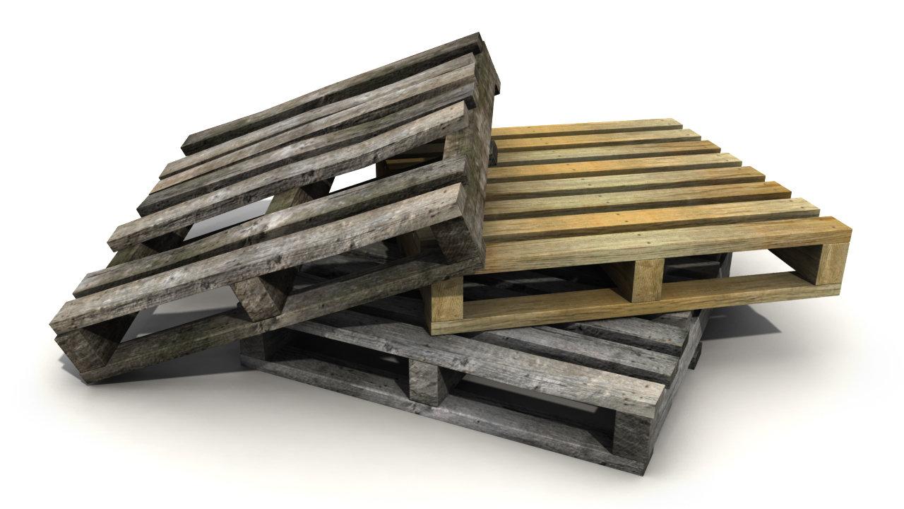Brian Belz Low Resolution Wooden Pallets
