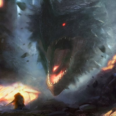 Grosnez illustrateur dragon2