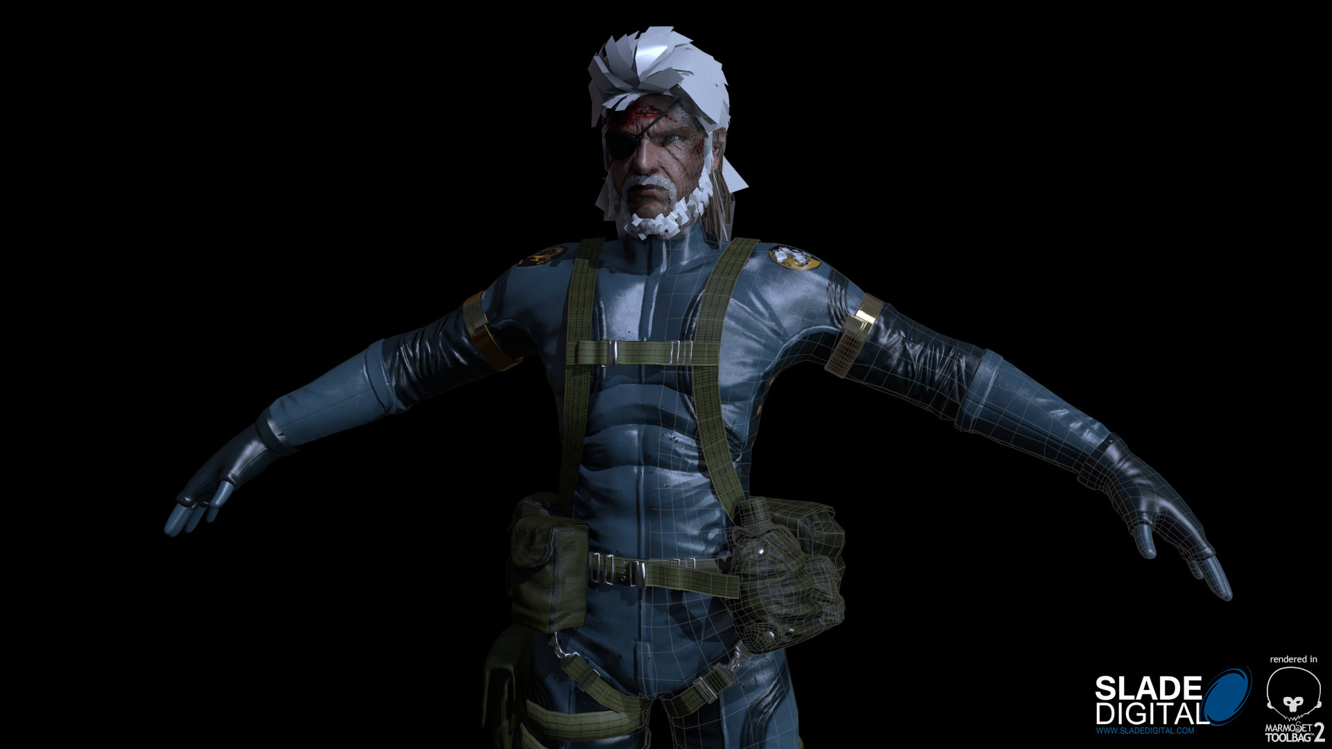 Artstation Mgs Ground Zeroes Snake Game Res Fan Art