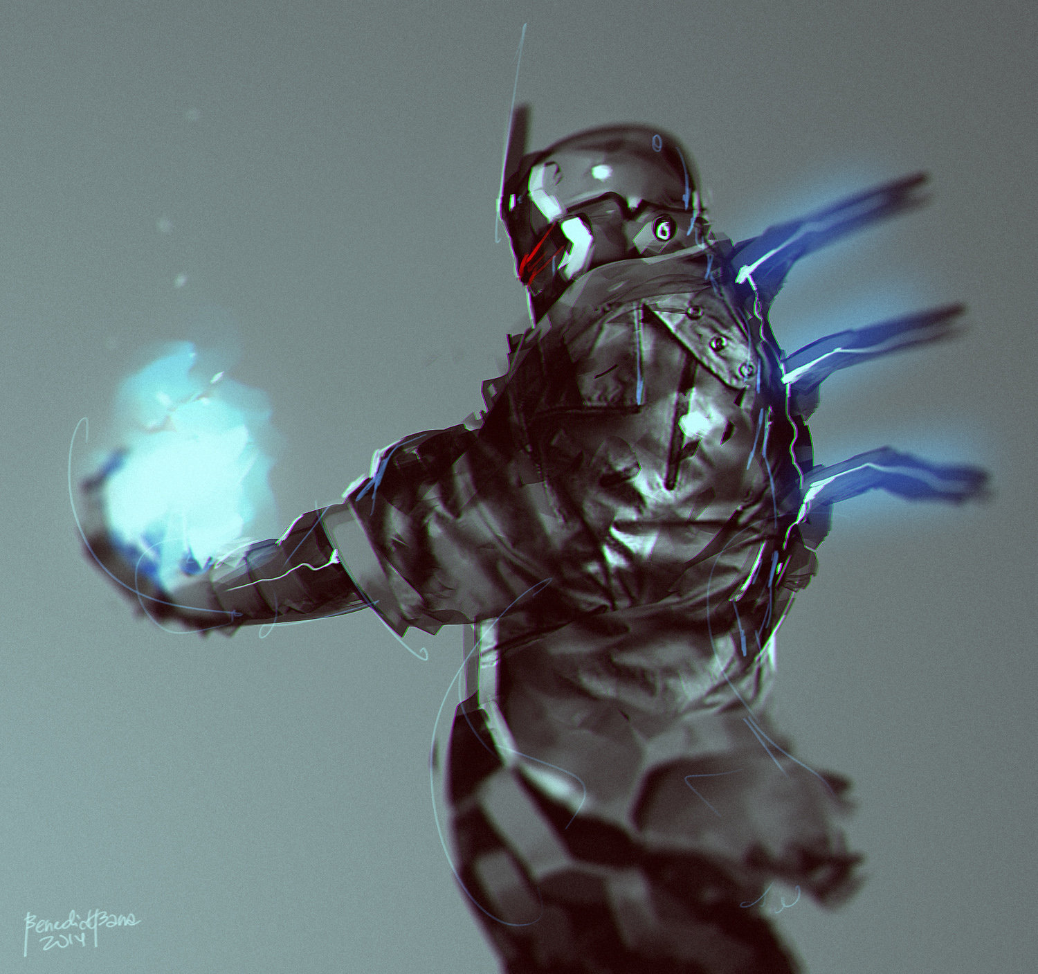 Benedick bana power jacket lores