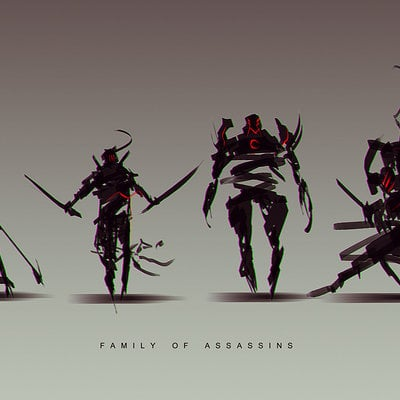 Benedick bana family of assassins lores