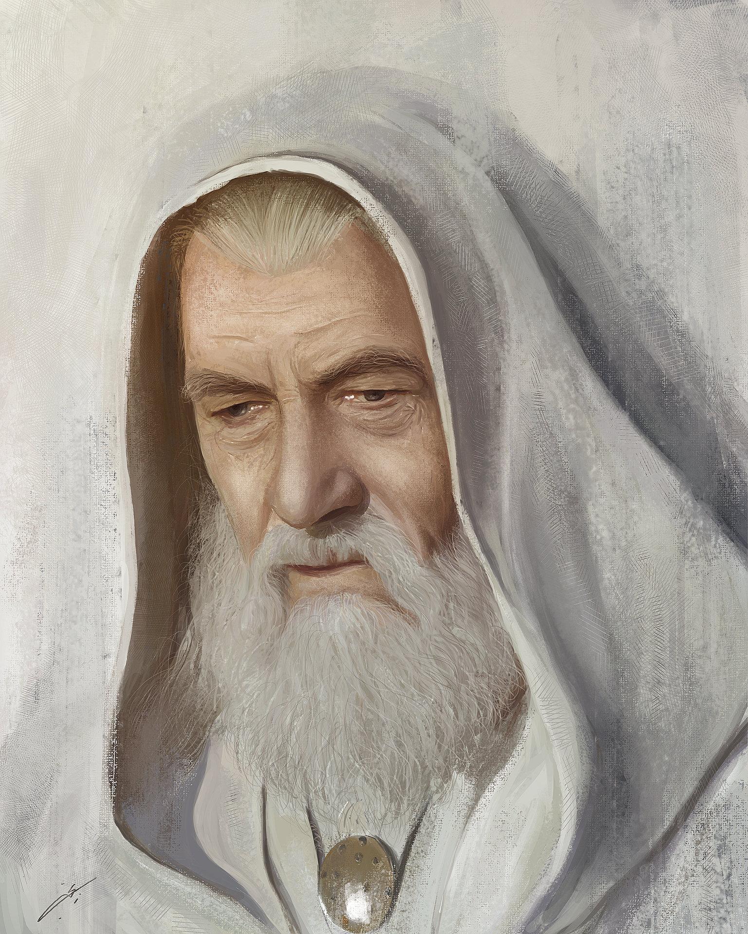 Najeeb najjar gandalf the white