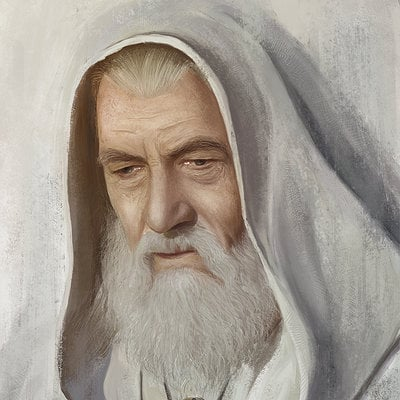 Najeeb najjar gandalf the white