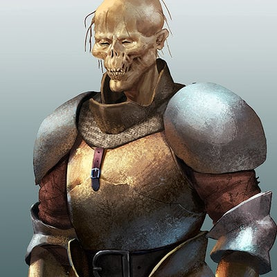 John derek murphy armor concept sketches skully 1