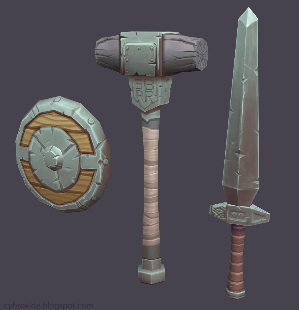 Simple Weapon Set
