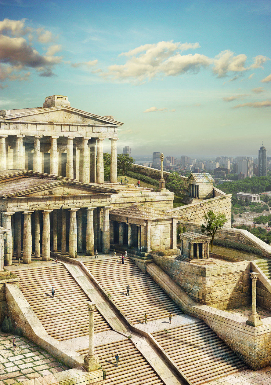 holy ancient greek civilization - 600×851
