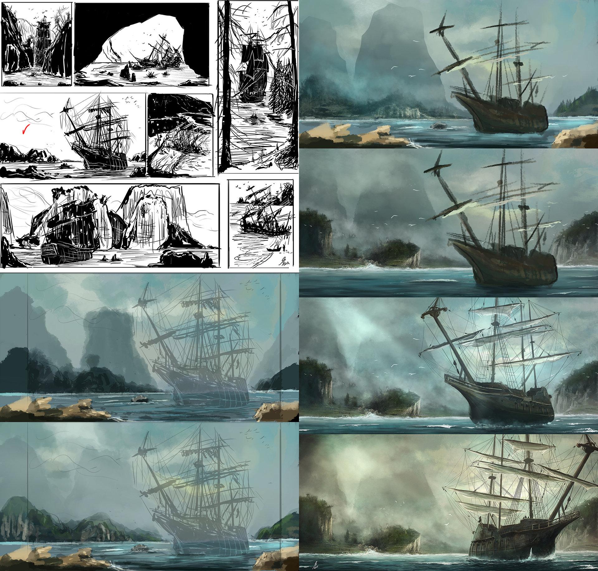 Reha sakar pirates wip