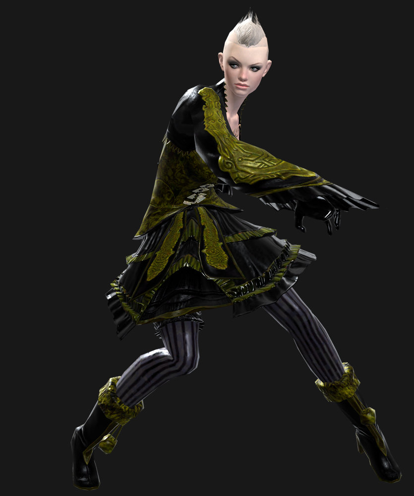 ArtStation - Guild Wars 2 female Necromancer, Aaron Coberly