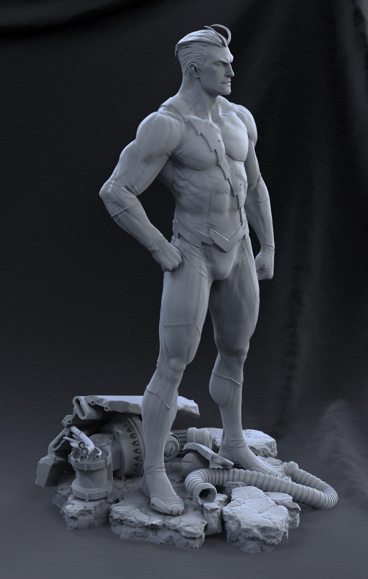 David giraud standing6 grey