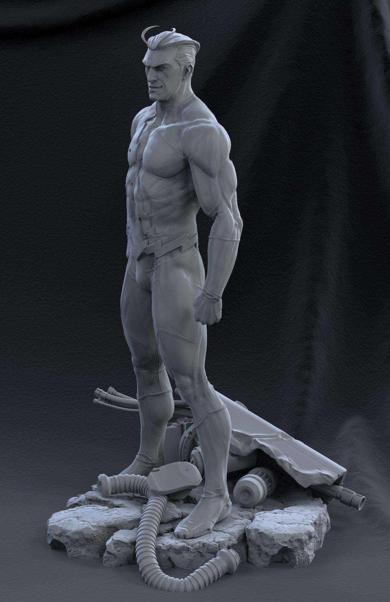 David giraud standing5 grey