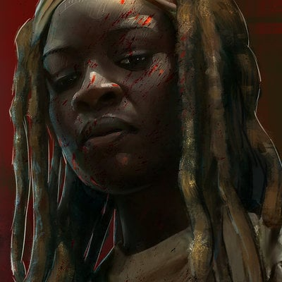Andrew hunt michonne lo res