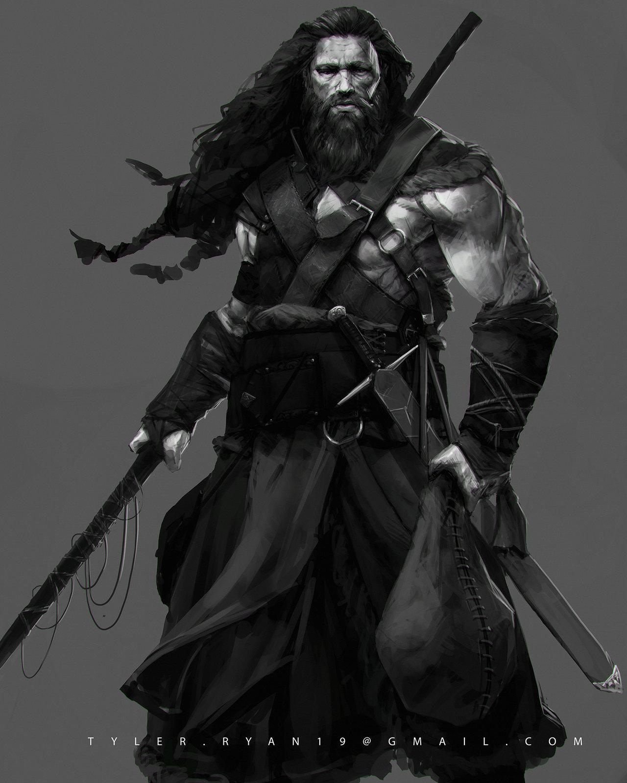 Artstation Viking Hunter Tyler Ryan