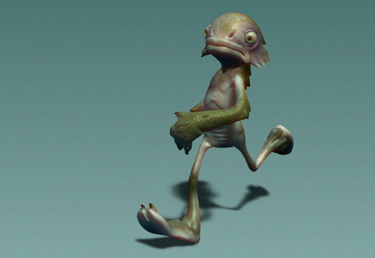 Glenn melenhorst creature running