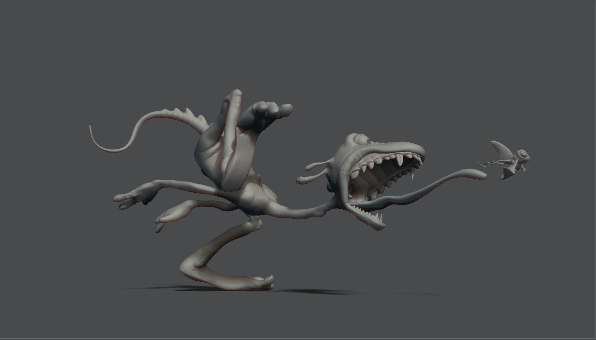 Lizard thingy