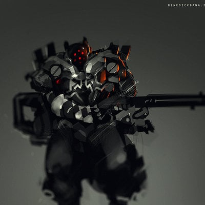 Benedick bana red eyes lores