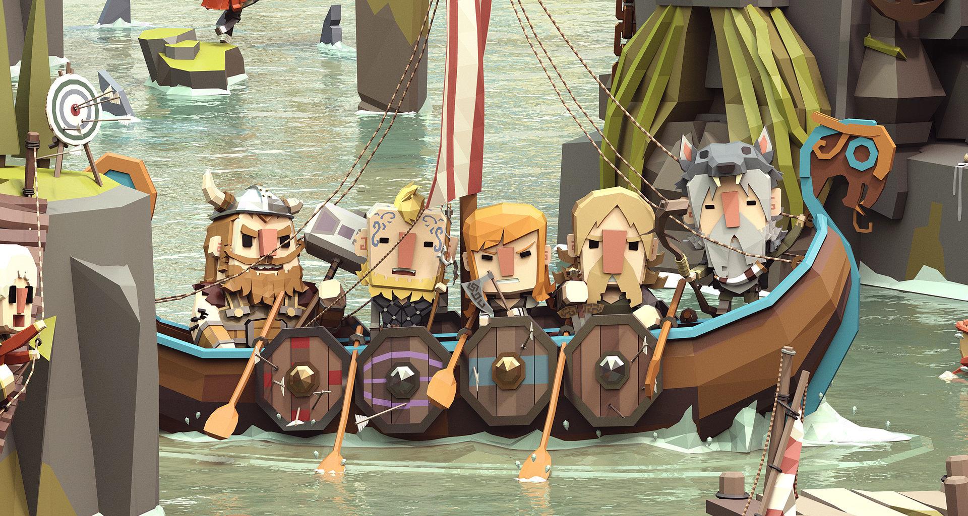 ArtStation - Viking Life, ben regimbal