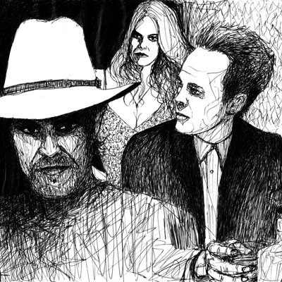 Albert wint raylan and boyd and ava