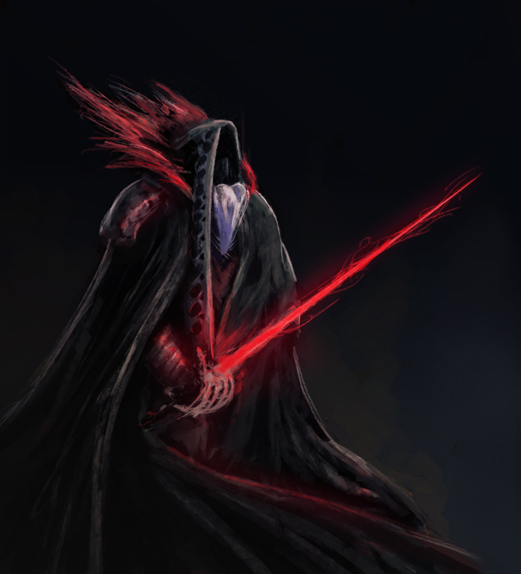 Konrad langa darth with rapier