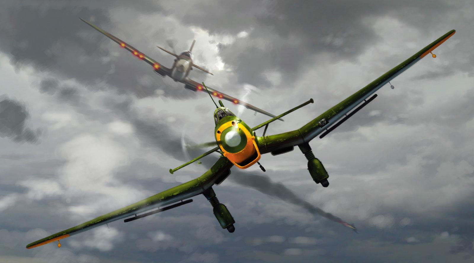 Combat concept 8