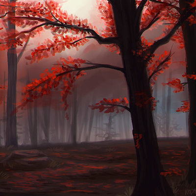 Kris lewis red forest