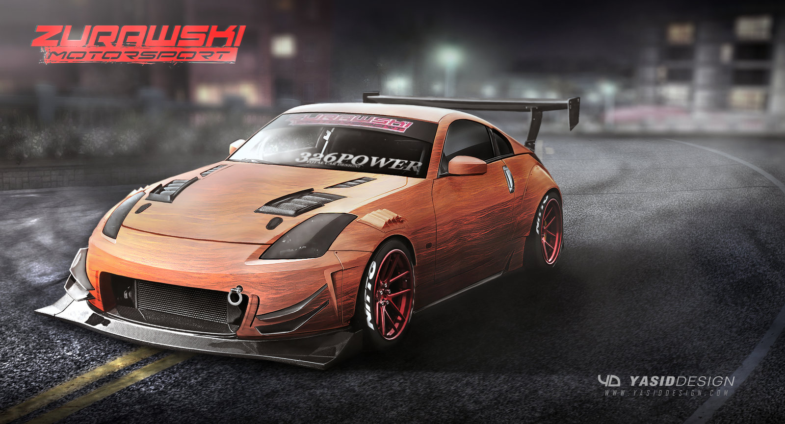 350z custom