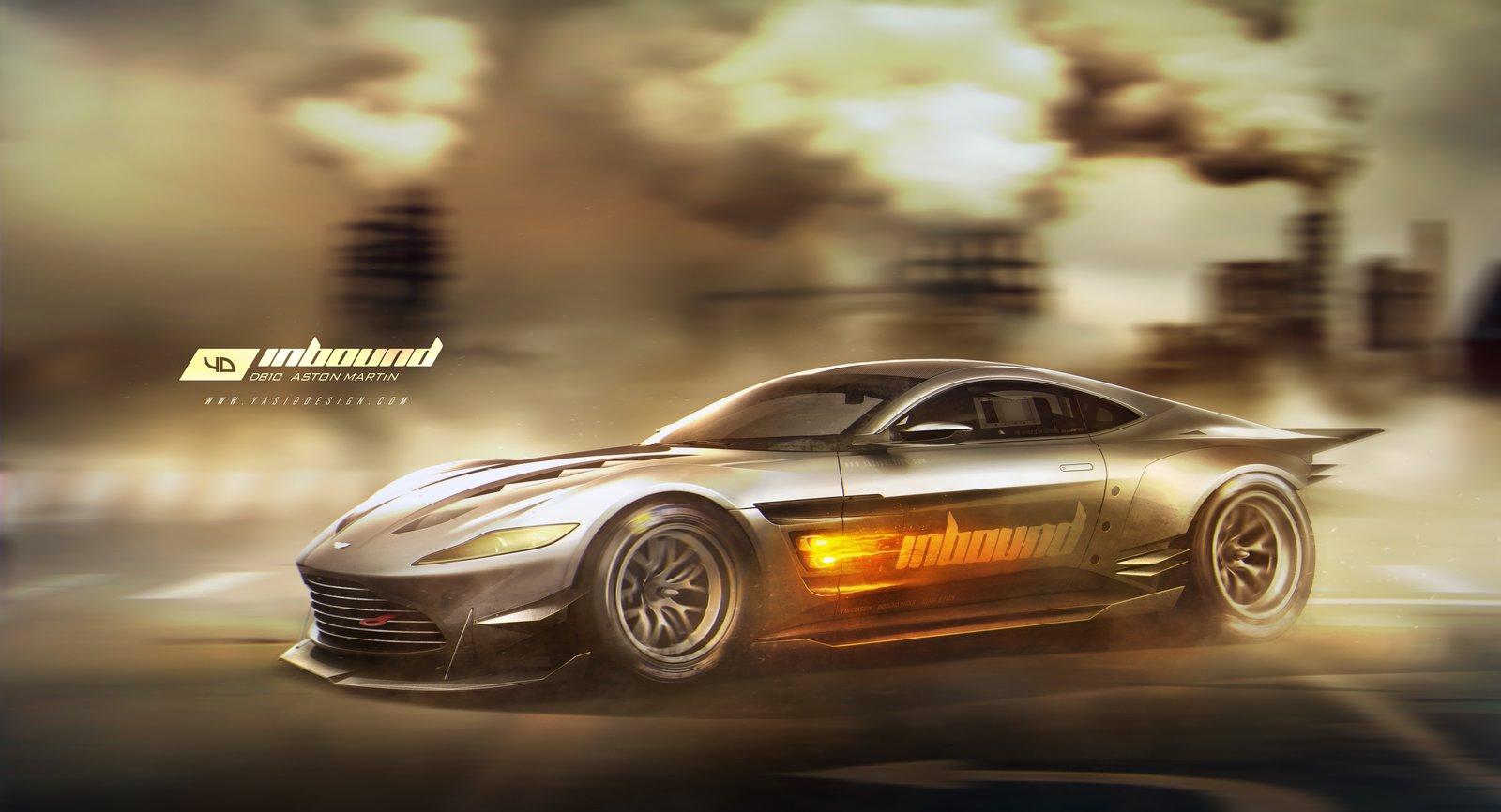 DB 10 Aston Martin - motion