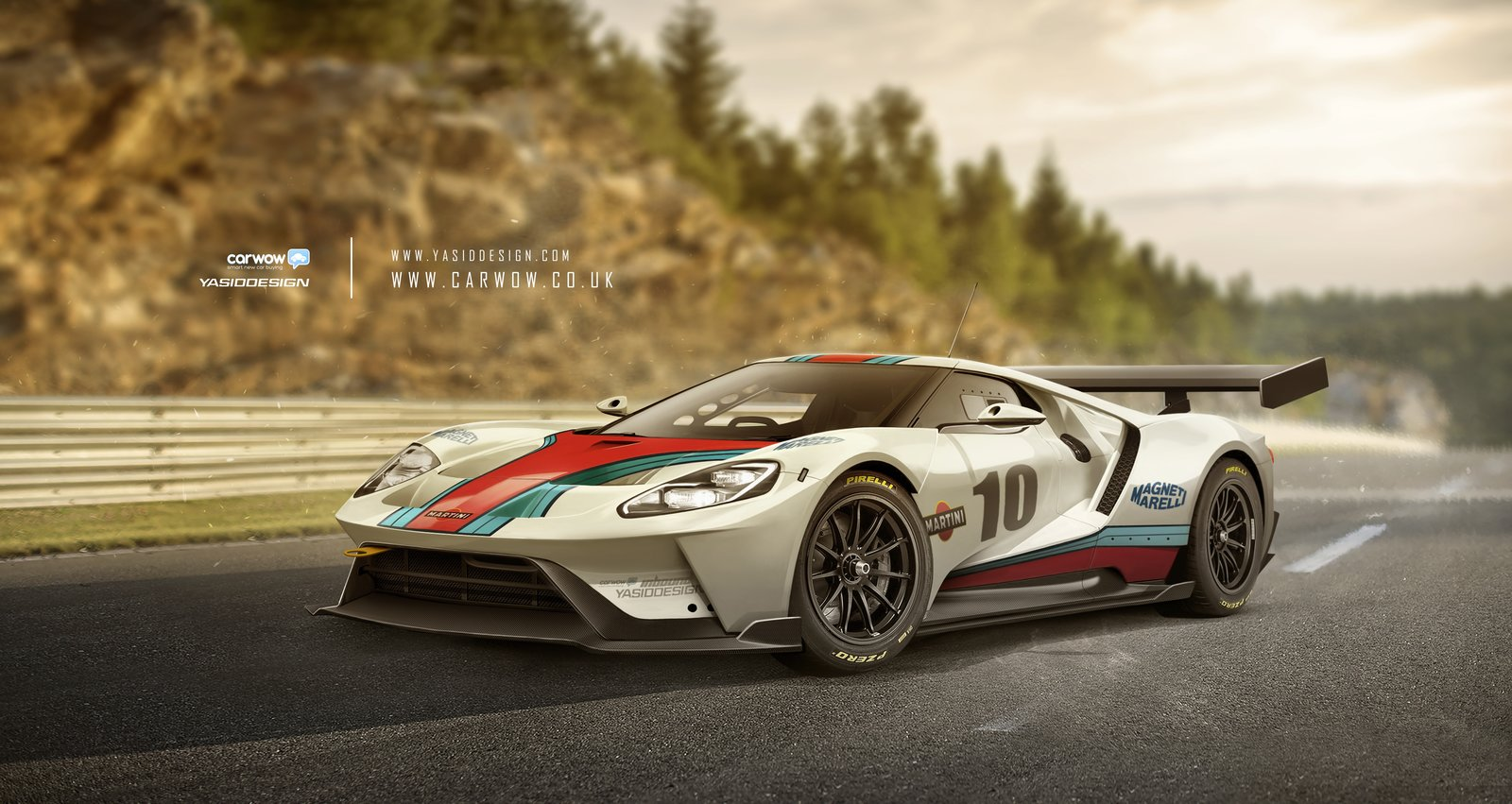 FORD GT - GT3 Martini