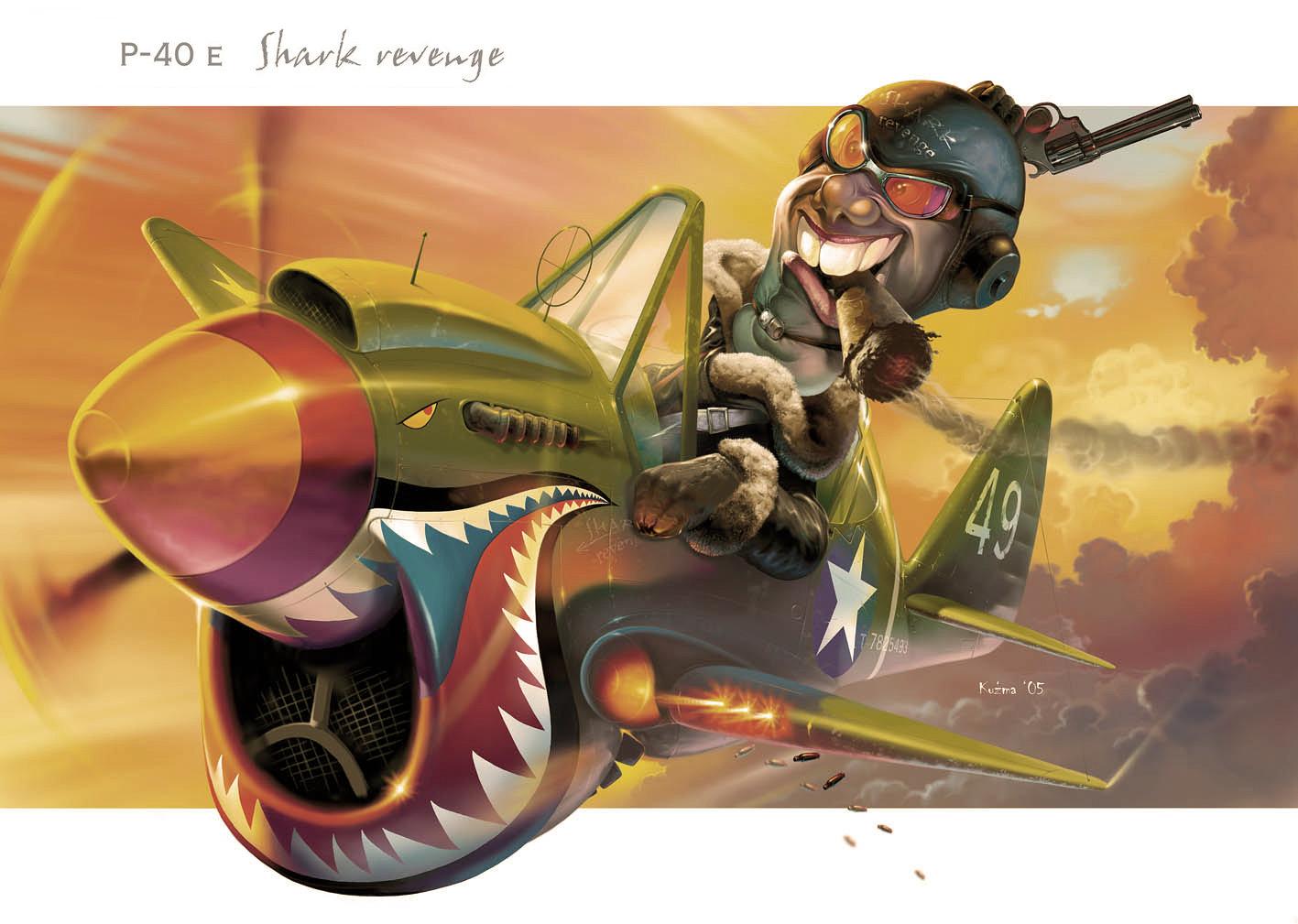 Shark revenge