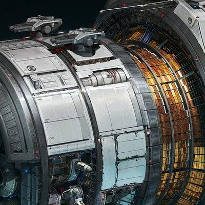 Karakter design studio kar nasa flagship module
