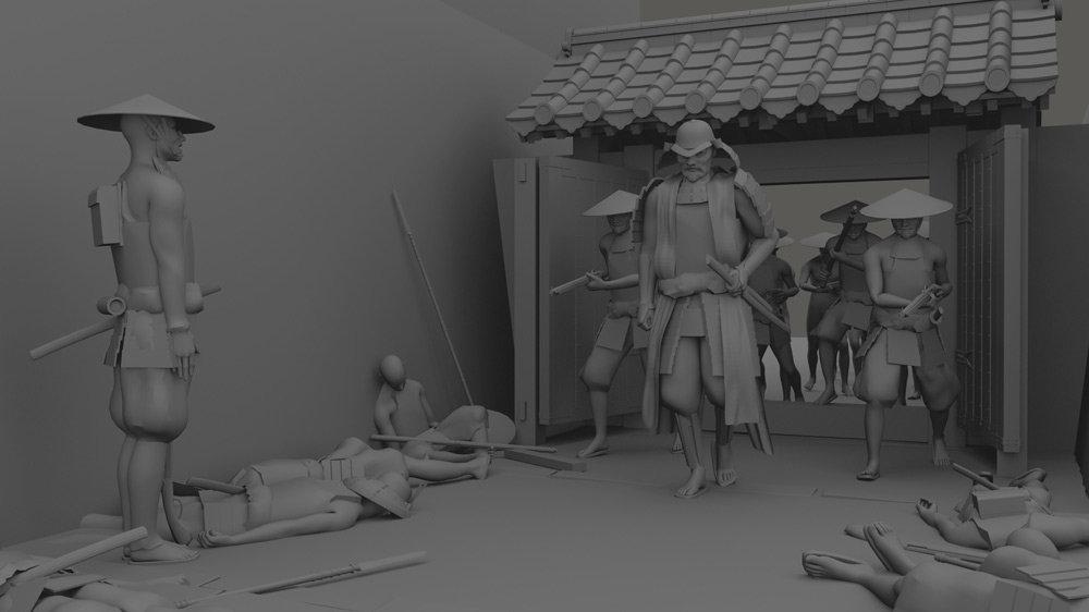 Patrik rosander starwars samurai wip02